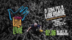 Festival Lula Livre em SP