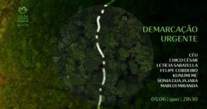 Show Demarcação Urgente - Casa Natura Musical