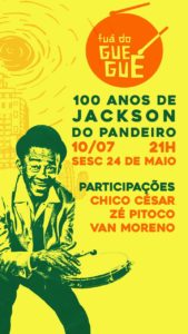 Fuá do Guegué - 100 Anos de Jackson do Pandeiro