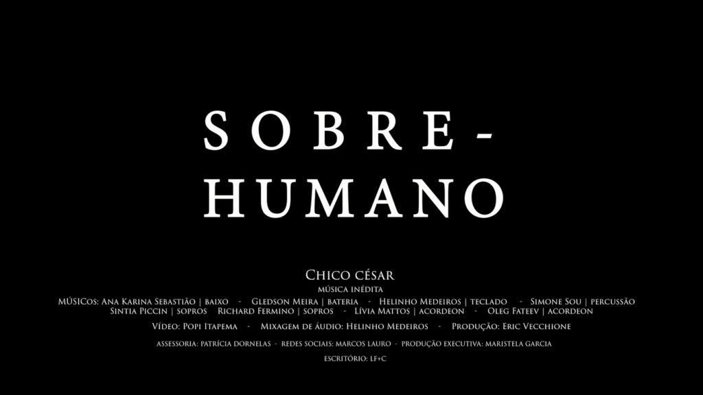 "Vídeo de ""Sobre Humano"""